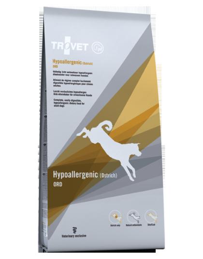 Hypoallergenic Ostrich ORD dog 3kg - 12,5kg